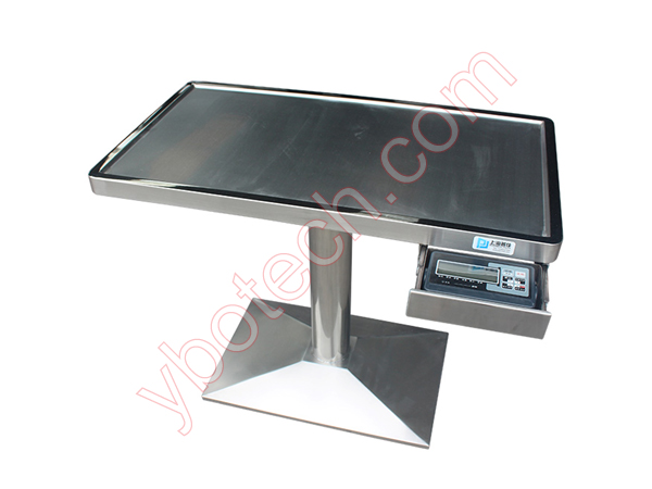 Examine Treament Table with scale-VTT900A