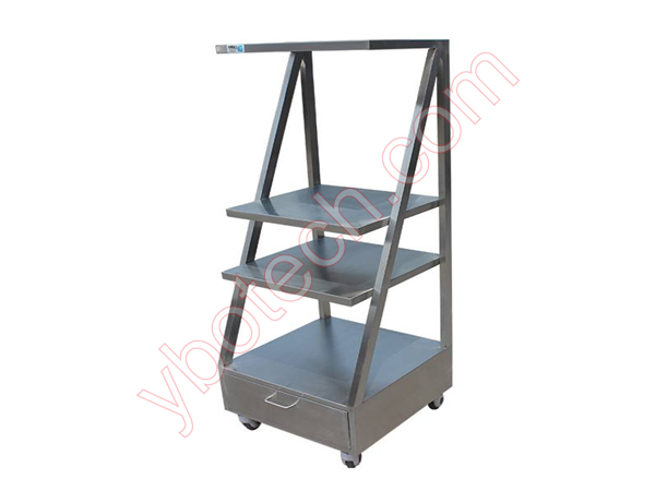 Instrument Trolley 3 floors-5555